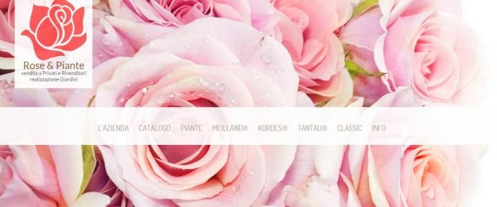 """Sito ed e-commerce """"Le Rose di Pistoia"""""""