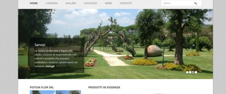Sito e Catalogo WEB Pistoia Flor SRL