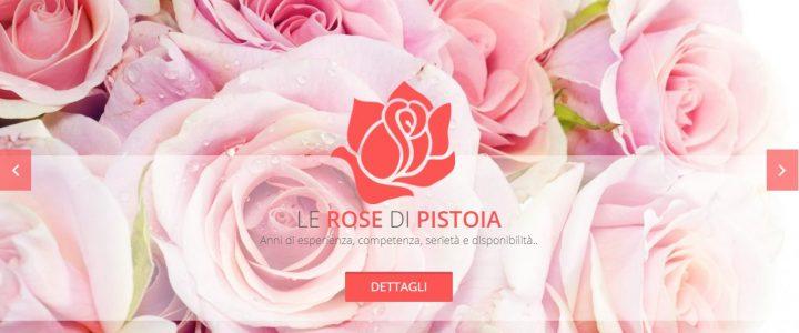 Sito WEB Le Rose di Pistoia