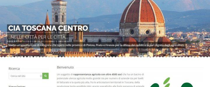 CIA Toscana Centro: esce il nuovo sito WEB